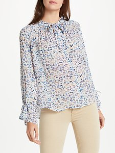 Read more about Pyrus anais tie blouse textured animal multi