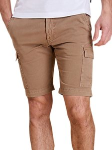Read more about Barbour cotton cargo shorts stone