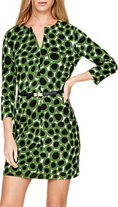 Read more about Damsel in a dress olive spot tunic dress khaki ivory