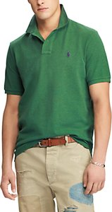 Read more about Polo ralph lauren slim fit polo shirt verano green heather
