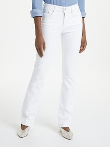 Read more about Nydj marilyn straight leg jeans optic white