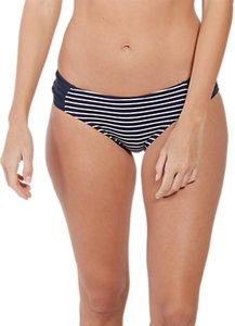 Read more about Fat face breton ruched bikini bottoms navy