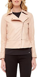 Read more about Ted baker leather biker jacket dusty pink