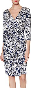 Read more about Gina bacconi kirstie floral jersey dress navy
