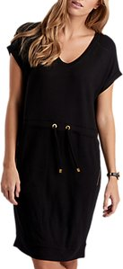 Read more about Barbour international jersey tunic dress black