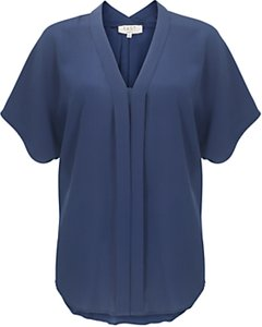 Read more about East silk v-neck blouse deepmagen