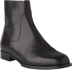 Read more about L k bennett loti block heeled ankle boots black leather