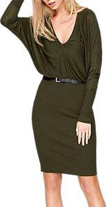Read more about Damsel in a dress akira blouson knitted dress khaki