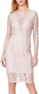 Read more about Damsel in a dress eira animal lace dress champagne
