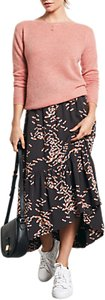 Read more about Hush veria dragonfly print skirt black pink