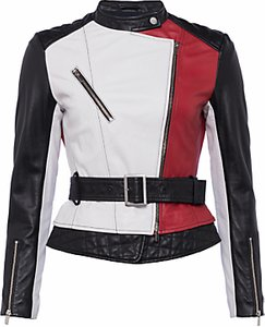 Read more about French connection evia biker jacket multi
