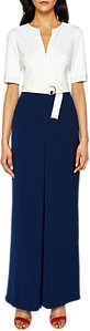 Read more about Ted baker zip front wide leg jumpsuit navy