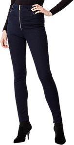 Read more about Karen millen lace detail leggings denim