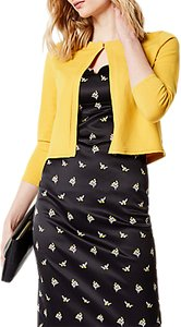 Read more about Karen millen fine cardigan mustard