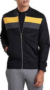 Read more about Barbour international apex zip through sweatshirt black