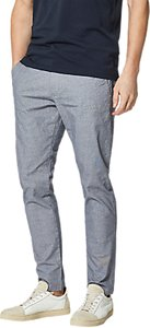 Read more about Selected homme harval check slim fit trousers dark navy