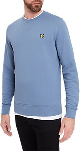 Read more about Lyle scott crew neck sweatshirt mist blue