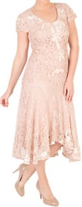 Read more about Chesca ombre cornelli lace dress blush ivory