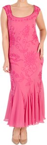 Read more about Chesca embroidered beaded dress rose pink