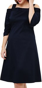 Read more about Studio 8 giana cold shoulder dress navy