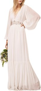Read more about French connection cari maxi bridal dress summer white