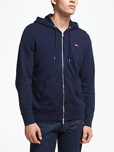 Read more about Levi s original zip up hoodie navy