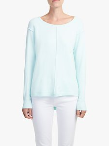 Read more about French connection babysoft vhari crew neck jumper fresh aqua