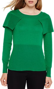 Read more about Damsel in a dress over knitted jumper emerald