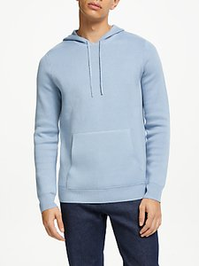 Read more about Kin compact cotton blend hoodie blue