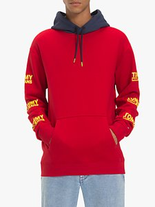 Read more about Tommy jeans graphic hoodie samba red