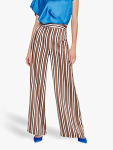 Read more about Damsel in a dress monti wide leg stripe trousers neutral