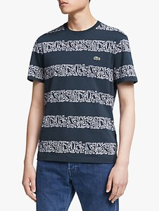 Read more about Lacoste x keith haring graphic print stripe t-shirt blue