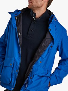 Read more about Barbour gunwale waterproof jacket electric blue