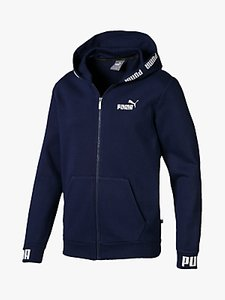 Read more about Puma amplified training hoodie peacoat