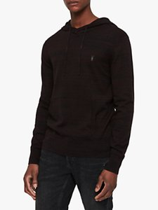 Read more about Allsaints marlo hoodie rust red marl
