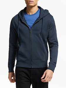 Read more about Belstaff wentworth zip up hoodie navy