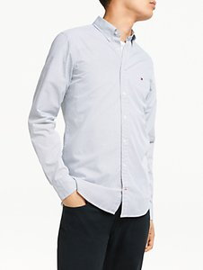Read more about Tommy hilfiger long sleeve slim fit micro dot shirt