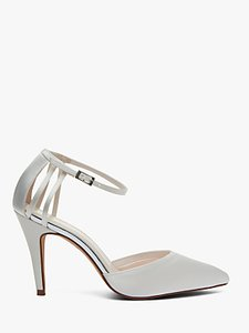 Read more about Rainbow club kennedy strappy stiletto heel court shoes ivory