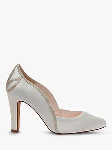 Read more about Rainbow club kourtney cone heel court shoes ivory