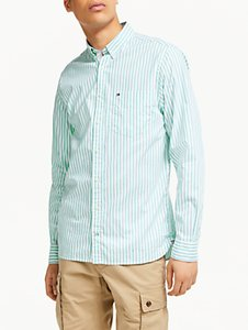 Read more about Tommy hilfiger long sleeve oxford stripe shirt