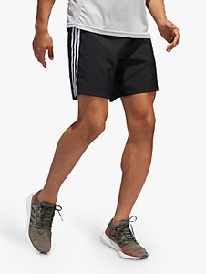 Read more about Adidas run it 3-stripes running shorts black