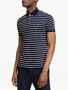 Read more about Polo ralph lauren pima striped polo shirt