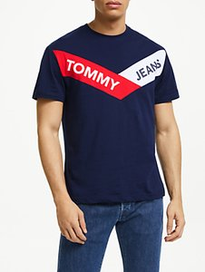 Read more about Tommy jeans short sleeve graphic t-shirt black iris
