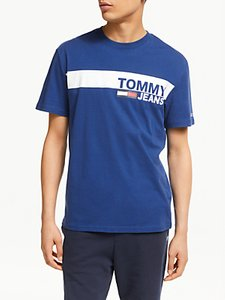 Read more about Tommy jeans short sleeve logo t-shirt limoges