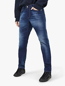Read more about Diesel larkee-beex regular straight jeans blue 084gr