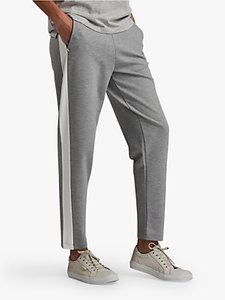 Read more about Barbour international track trousers light grey marl