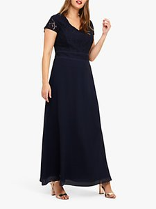 Read more about Studio 8 gemma lace maxi dress navy
