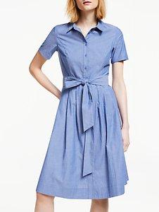 Read more about Boden anastasia tie waist shirt dress