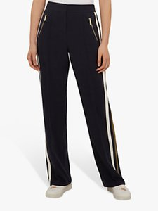 Read more about Ted baker kariss side tape trousers navy