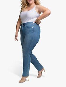 Read more about Nydj curve slim straight jeans iliad mid wash